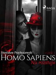 okładka Homo sapiens 1: Na rozstaju, Ebook | Stanisław Przybyszewski