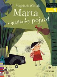 okładka Marta i zagadkowy pojazd, Ebook   Wojciech Widłak