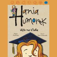 okładka Hania Humorek idzie na studia, Audiobook | Megan McDonald