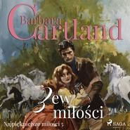 okładka Zew miłości, Audiobook   Cartland Barbara