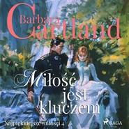 okładka Miłość jest kluczem, Audiobook | Cartland Barbara