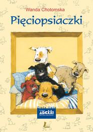 okładka Pięciopsiaczki, Ebook | Wanda Chotomska