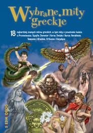 okładka Wybrane mity greckie, Ebook | Tamara Michałowska, Magdalena Tulli