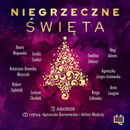 okładka Niegrzeczne święta, Audiobook | Meg Adams, Robert Ziębiński, Anna Langner