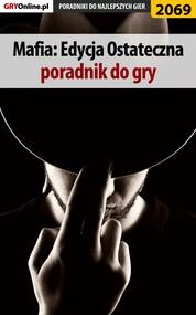 okładka Mafia Definitive Edition - poradnik, solucja, Ebook | Jacek Hałas