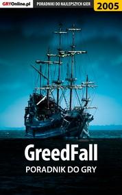 okładka GreedFall - poradnik do gry, Ebook | Jacek Hałas, Natalia Fras, Grzegorz Misztal