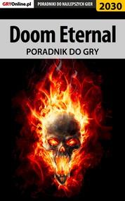 okładka Doom Eternal - poradnik do gry, Ebook | Jacek Hałas, Natalia Fras, Grzegorz Misztal
