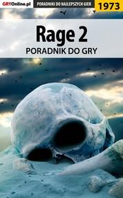 okładka Rage 2 - poradnik do gry, Ebook | Jacek Hałas, Natalia Fras