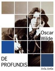 okładka De profundis, Ebook | Oscar Wilde