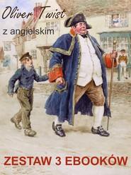okładka Oliver Twist z angielskim. Zestaw 3 ebooków, Ebook | Marta Owczarek, Charles Dickens, Arthur Conan Doyle