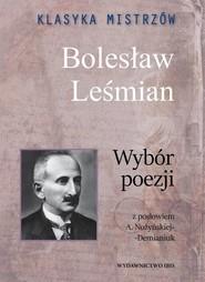 okładka Klasyka mistrzów Bolesław Leśmian Wybór poezji, Książka   Bolesław  Leśmian