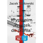 okładka Kryptonim Proszek do prania, Książka   Wołowski Jacek