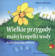 okładka Wielkie przygody  małej kropelki wody Bardzo pouczająca historia, Książka | Zubrzycka Elżbieta