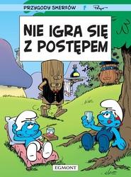 okładka Nie igra się z postępem, Książka  