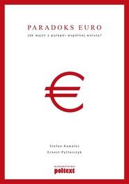 okładka Paradoks euro Jak wyjść z pułapki wspólnej waluty?, Książka | Stefan Kawalec, Ernest Pytlarczyk