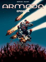 okładka Armada Tom 18 Epidemia, Książka | Jean David Morvan