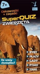 okładka Kapitan Nauka SuperQuiz Zwierzęta, Książka | Kolasińska Justyna