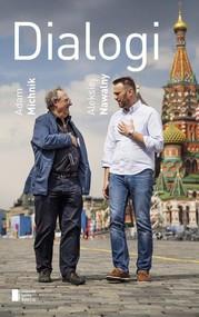 okładka Dialogi, Książka | Adam Michnik, Aleksiej Nawalny