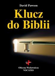 okładka Klucz do Biblii, Książka | David  Pawson