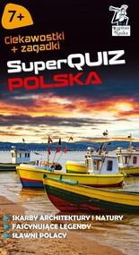 okładka Kapitan Nauka SuperQuiz Polska, Książka | Majewska Maria