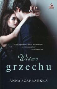 okładka Widmo grzechu, Książka | Anna Szafrańska