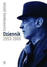 okładka Dziennik 1953-1969, Książka   Witold Gombrowicz