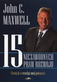 okładka 15 niezawodnych praw rozwoju, Książka   John C. Maxwell