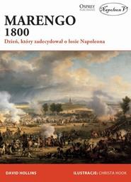 okładka Marengo 1800 Dzień, który zadecydował o losie Napoleona, Książka | Hollins David