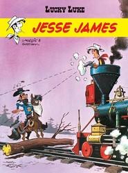 okładka Lucky Luke Jesse James, Książka | René Goscinny