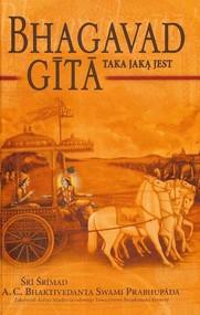 okładka Bhagavadgita taka jaką jest, Książka |