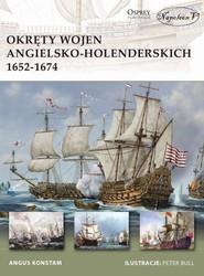 okładka Okręty wojen angielsko-holenderskich 1652-1674, Książka | Angus Konstam