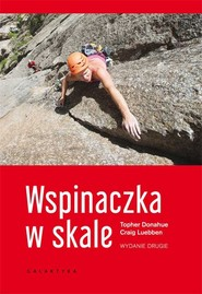 okładka Wspinaczka w skale, Książka | Luebben Craig