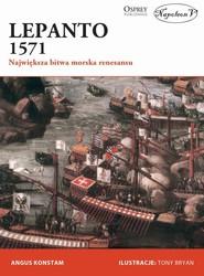 okładka Lepanto 1571 Największa bitwa morska renesansu, Książka | Angus Konstam