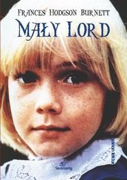 okładka Mały Lord, Książka | Frances Hodgson Burnett