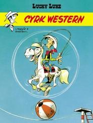 okładka Cyrk Western Lucky Luke, Książka | René Goscinny