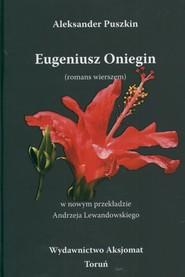 okładka Eugeniusz Oniegin, Książka | Aleksander Puszkin