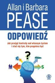 okładka Odpowiedź, Książka | Pease Allan, Pease Barbara