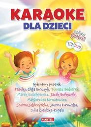 okładka Karaoke dla dzieci + CD/DVD, Książka |