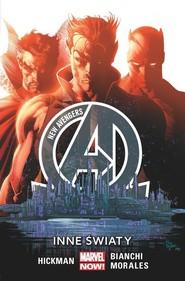 okładka New Avengers  Inne światy Tom 3, Książka   Jonathan Hickman, Simone Bianchi, Rags Morales