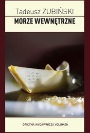 okładka Morze wewnętrzne, Książka | Tadeusz Zubiński