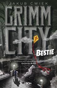 okładka Grimm City Bestie, Książka | Jakub Ćwiek