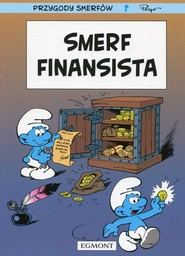 okładka Przygody Smerfów Smerf finansista, Książka  
