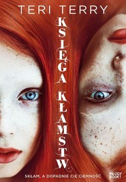 okładka Księga kłamstw, Książka | Terry Teri