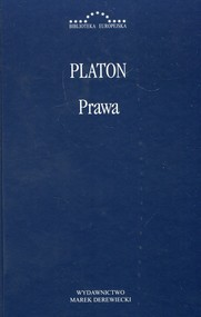 okładka Prawa Platon, Książka | Platon