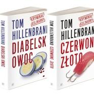 okładka Kryminały kulinarne Toma Hillenbranda Diabelski owoc /Czerwone złoto Pakiet, Książka | Tom  Hillenbrand