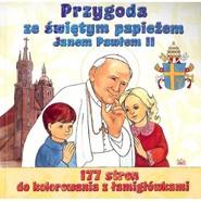 okładka Przygoda ze świętym papieżem Janem Pawłem II, Książka | Sulencki Adam