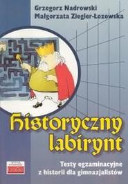 okładka Historyczny labirynt, Książka | Grzegorz Nadrowski, Małgorzata Ziegler-Łozowska