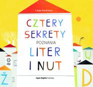 okładka Cztery sekrety poznania liter i nut, Książka | Kontrimas Linas
