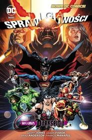 okładka Liga Sprawiedliwości Tom 8 Wojna Darkseida Część 2, Książka | Geoff Johns, Jason Fabok