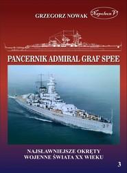 okładka Niemiecki pancernik kieszonkowy typu Deutschland. Admiral Graf Spee, Książka | Nowak Grzegorz